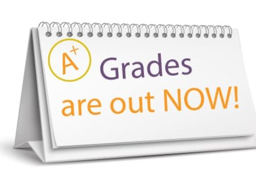 1st Quarter Grades are out. What is next?